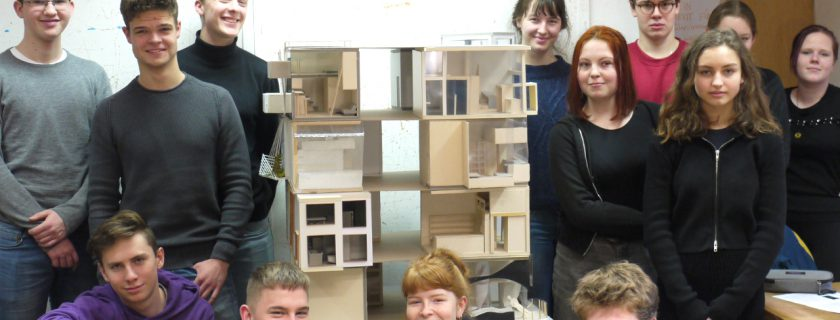Die Stadtentdecker entwerfen Minimalwohnungen