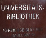 Literaturrecherche in der Universitätsbibliothek