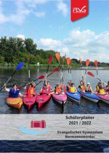 Titelbild des Schülerplaners 2021/2022 des Ev. Gymnasiums Hermannswerder, Potsdam
